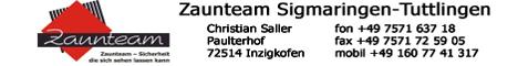 Zaunteam Sigmaringen